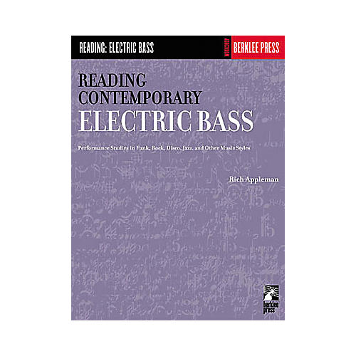 Hal Leonard Reading Contemporary Electric Bass Book-thumbnail