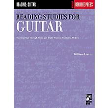 Hal Leonard Reading Studies for Guitar Book