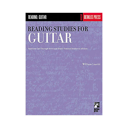 Hal Leonard Reading Studies for Guitar Book
