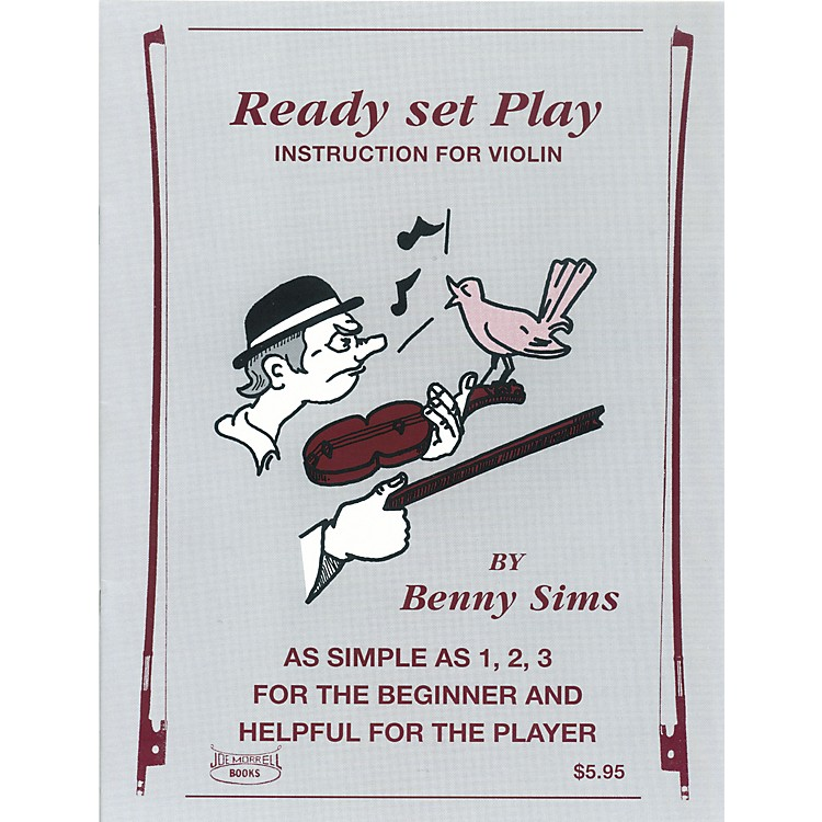 Morrell Music Ready, Set, Play Violin Book
