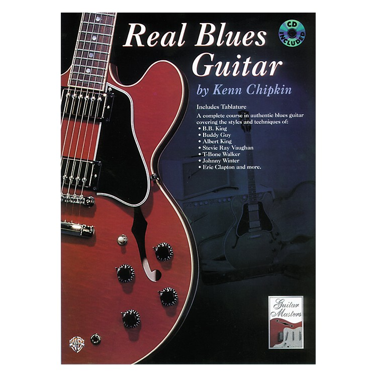 Alfred Real Blues Guitar Method Book with CD