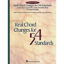 Hal Leonard Real Chord Changes for 54 Standards Fake Book