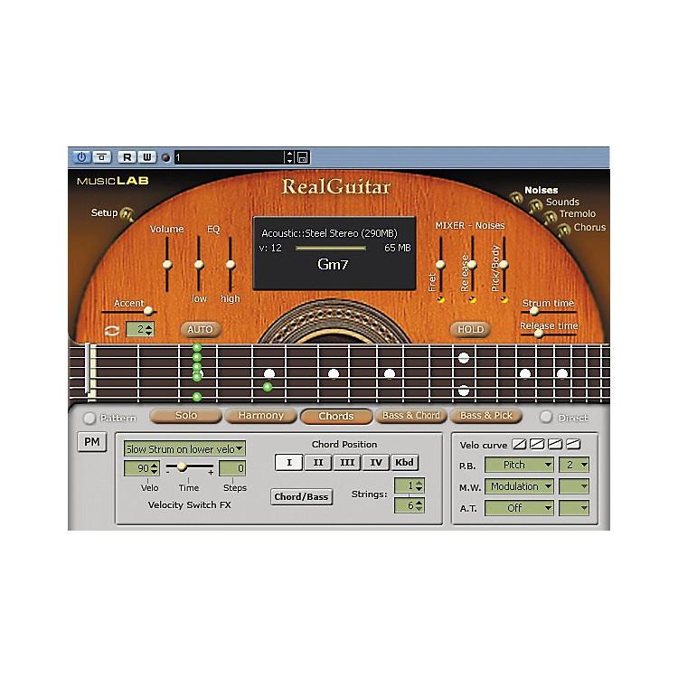 MusicLabRealGuitar 2L Sample-Based Virtual Instrument