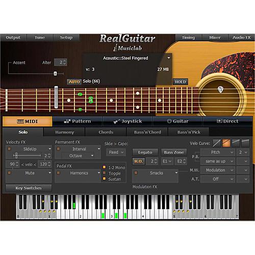 MusicLab RealGuitar Virtual Guitar