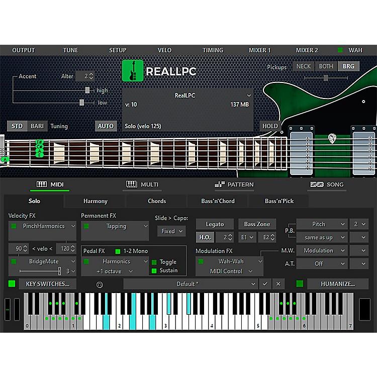 MusicLabRealLPC Les Paul Custom Virtual Guitar
