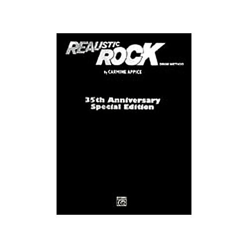 Alfred Realistic Rock 35th Anniversary Special Edition Book/ CD-ROM