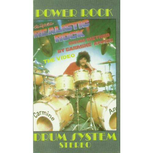 Alfred Realistic Rock Drum Method By Carmine Appice-thumbnail