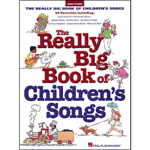 Hal Leonard Really Big Book Of Children's Songs For Easy Piano-thumbnail