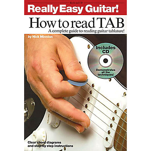 Music Sales Really Easy Guitar! - How to Read TAB Music Sales America Series Written by Nick Minnion-thumbnail