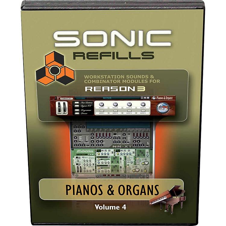 Sonic RealityReason 3 Refills Vol. 04: Piano and Organs