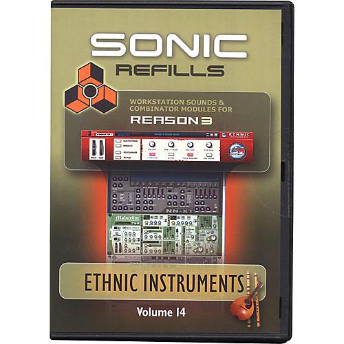 Sonic Reality Reason 3 Refills Vol. 14: Ethnic Instruments