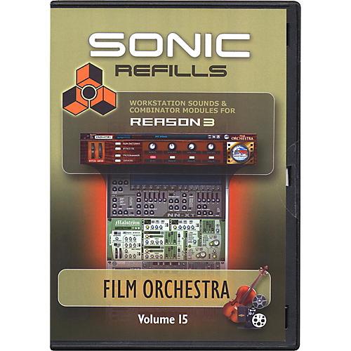 Sonic Reality Reason 3 Refills Vol. 15: Film Orchestra