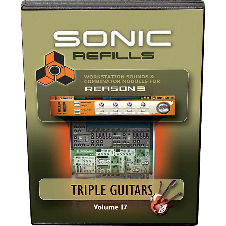 Sonic RealityReason 3 Refills Vol. 17: Triple Guitars