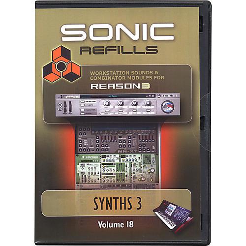 Sonic Reality Reason 3 Refills Vol. 18: Synths 3-thumbnail