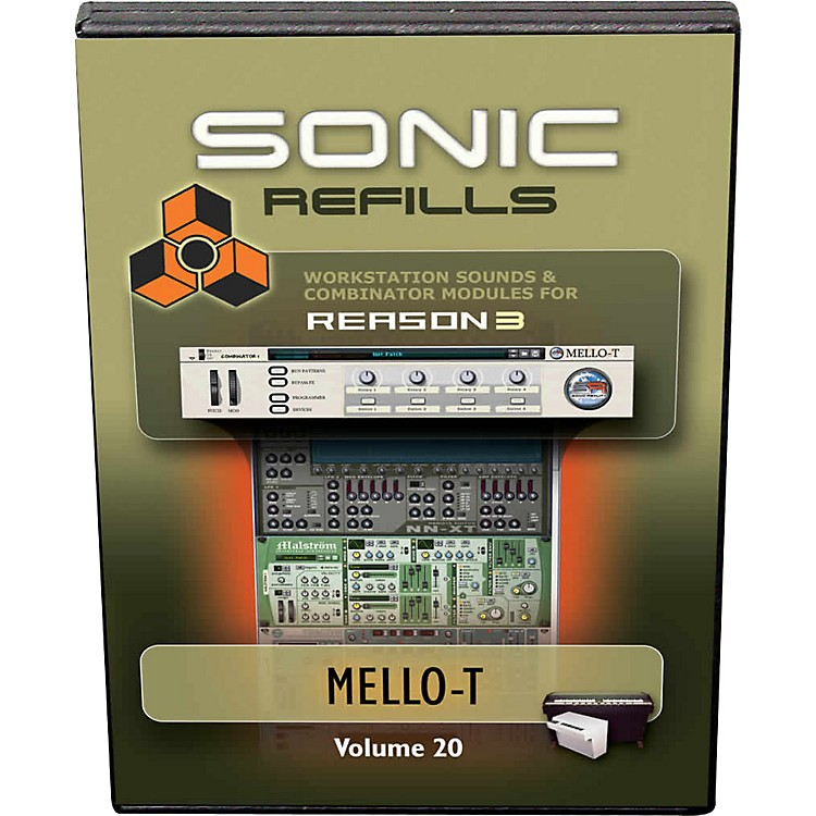 Sonic Reality Reason 3 Refills Vol. 20: Mello-T