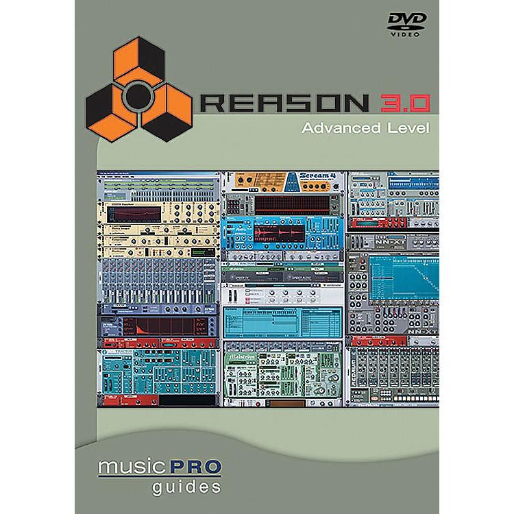 Hal LeonardReason 3.0 Advanced Level DVD Music Pro Guide Series