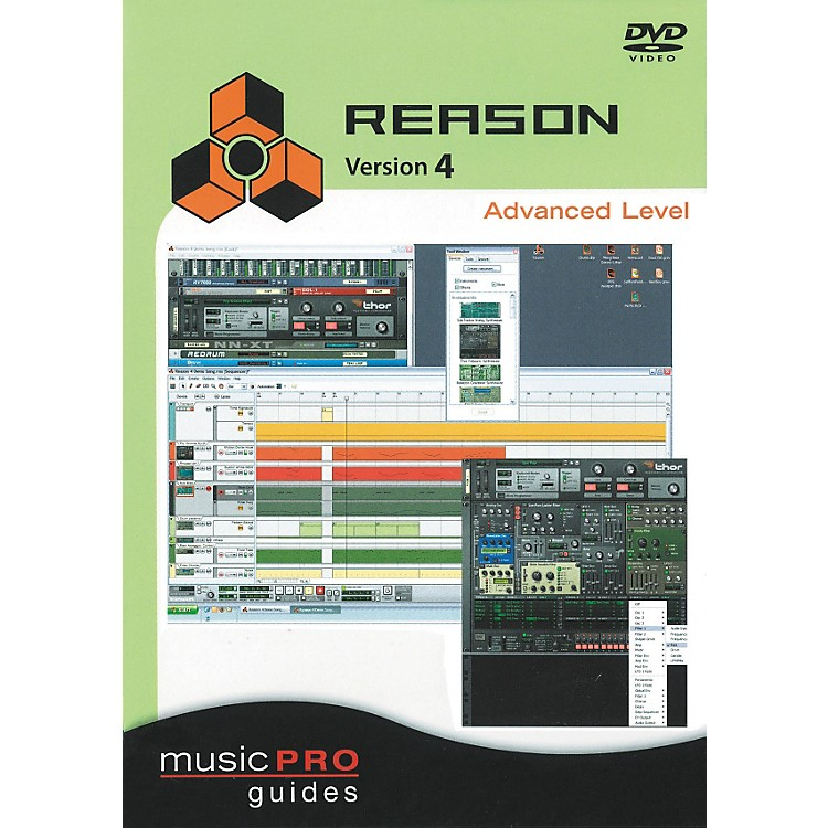 Hal Leonard Reason 4 Advanced Level - Music Pro Series (DVD)