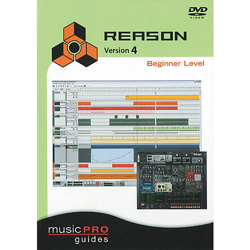 Hal Leonard Reason 4 Beginner Level - Music Pro Series (DVD)
