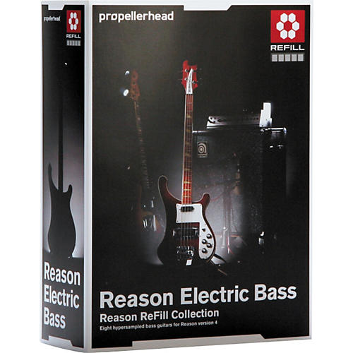 Propellerhead Reason Electric Bass Refill-thumbnail