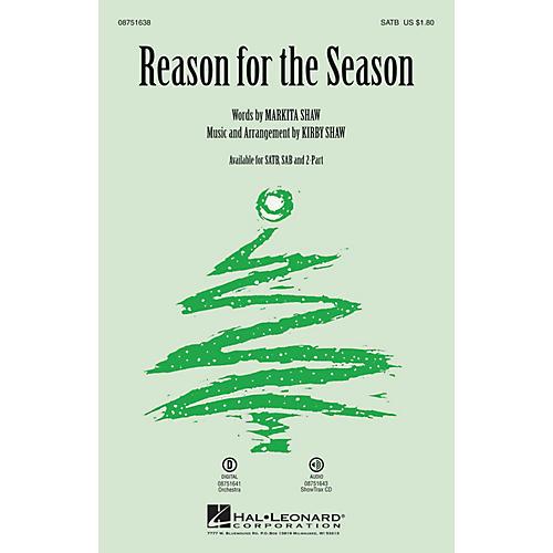 Hal Leonard Reason for the Season SAB Composed by Kirby Shaw-thumbnail
