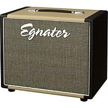 Egnater Rebel 112X 1x12 Guitar Extension Cabinet Black and Beige