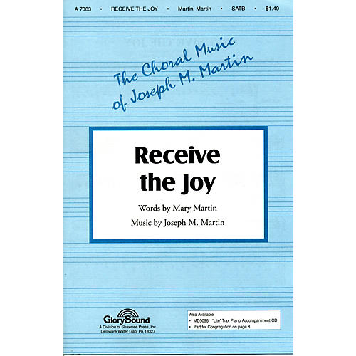 Hal Leonard Receive The Joy SATB