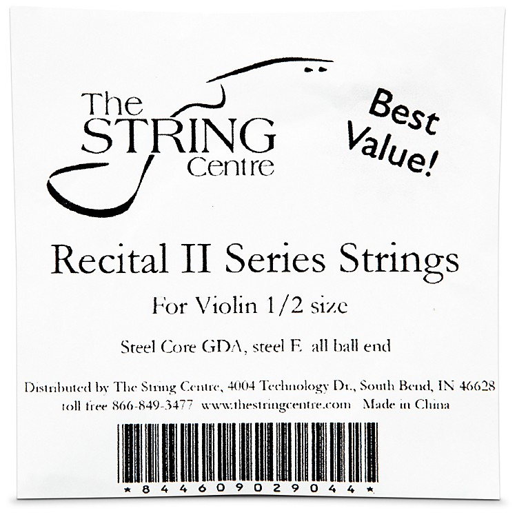 The String CentreRecital II Violin String set1/8 Size