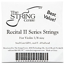 The String Centre Recital II Violin String set 1/8 Size