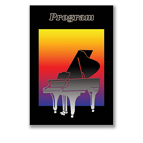SCHAUM Recital Program #78 - Piano Silhouette Educational Piano Series Softcover-thumbnail