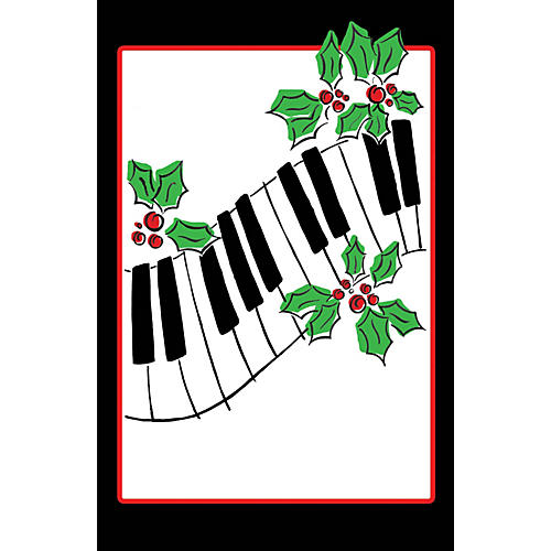 SCHAUM Recital Program Blanks #81 Keyboard & Holly Educational Piano Series Softcover-thumbnail