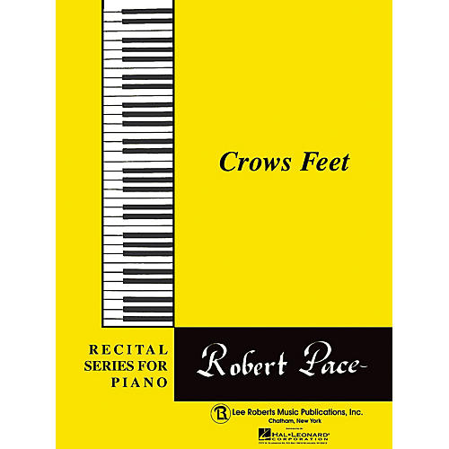 Lee Roberts Recital Series For Piano, Yellow (Book II) Crows Feet Pace Piano Education Series-thumbnail