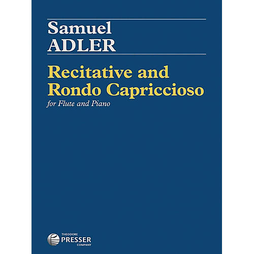 Carl Fischer Recitative and Rondo Capriccioso - Flute with Piano-thumbnail