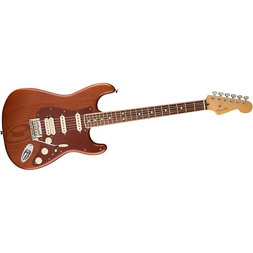 Fender Reclaimed Old Growth Redwood Stratocaster Electric Guitar