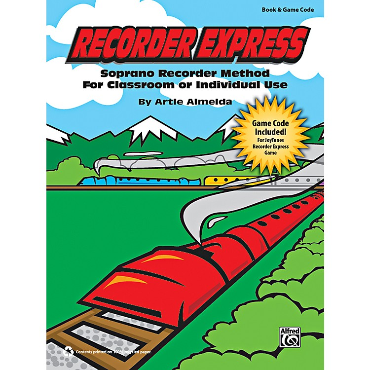 Alfred Recorder Express Book & Game Code