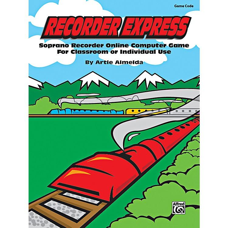 AlfredRecorder Express Game Code