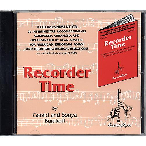 Rhythm Band Recorder Time Accompaniment CD