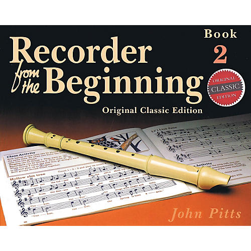 Music Sales Recorder from the Beginning - Book 2 (Classic Edition) Music Sales America Series Softcover by John Pitts-thumbnail