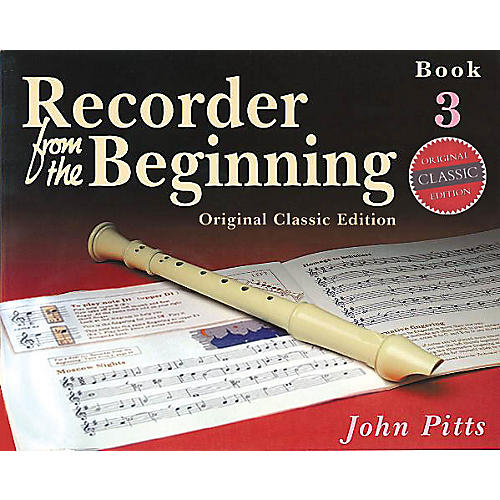 Music Sales Recorder from the Beginning - Book 3 (Classic Edition) Music Sales America Series Written by John Pitts-thumbnail