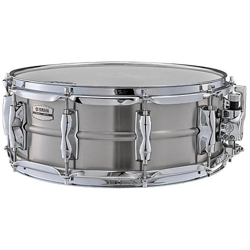 Yamaha recording custom stainless steel snare drum for Yamaha stage custom steel snare drum 14x6 5