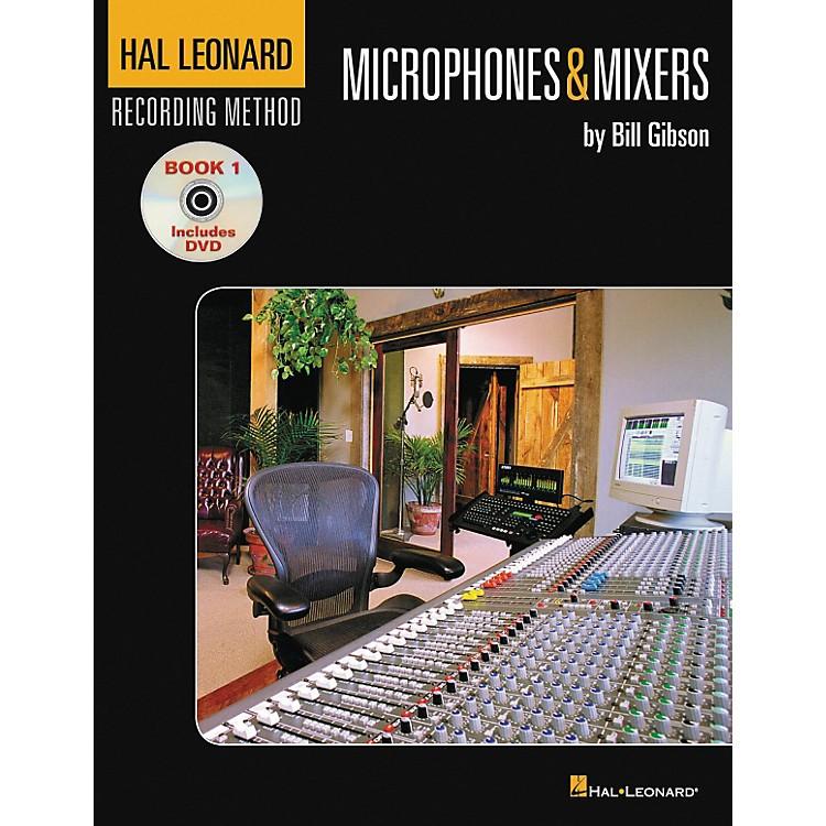 Hal LeonardRecording Method Book 1 Microphones And Mixers Book and DVD