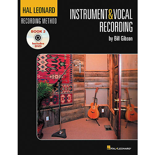 Hal Leonard Recording Method Vol. 2 Instrument And Vocal Recording Book and DVD