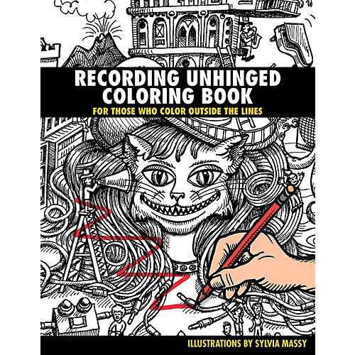 Hal Leonard Recording Unhinged Coloring Book - For Those Who Color Outside the Lines-thumbnail