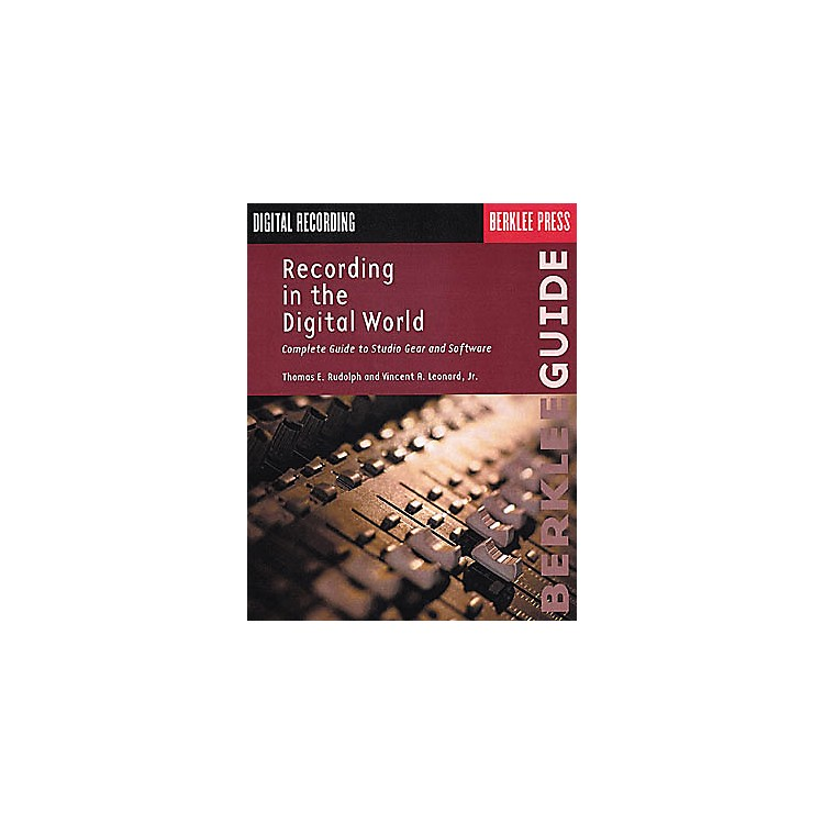 Berklee Press Recording in the Digital World Book
