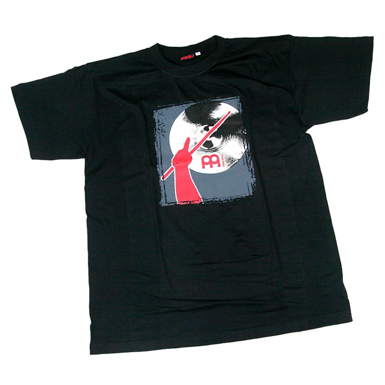 MeinlRed Arm & Cymbal T-ShirtRed/BlackSmall