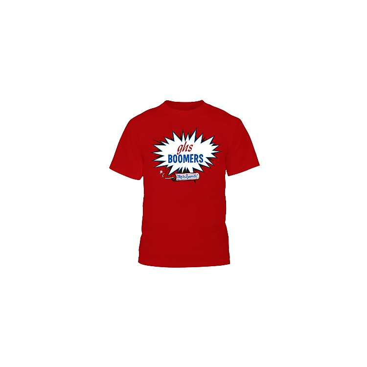 GHS Red Boomers T-Shirt Extra Extra Large