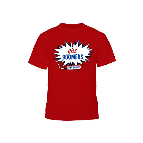 GHS Red Boomers T-Shirt Large