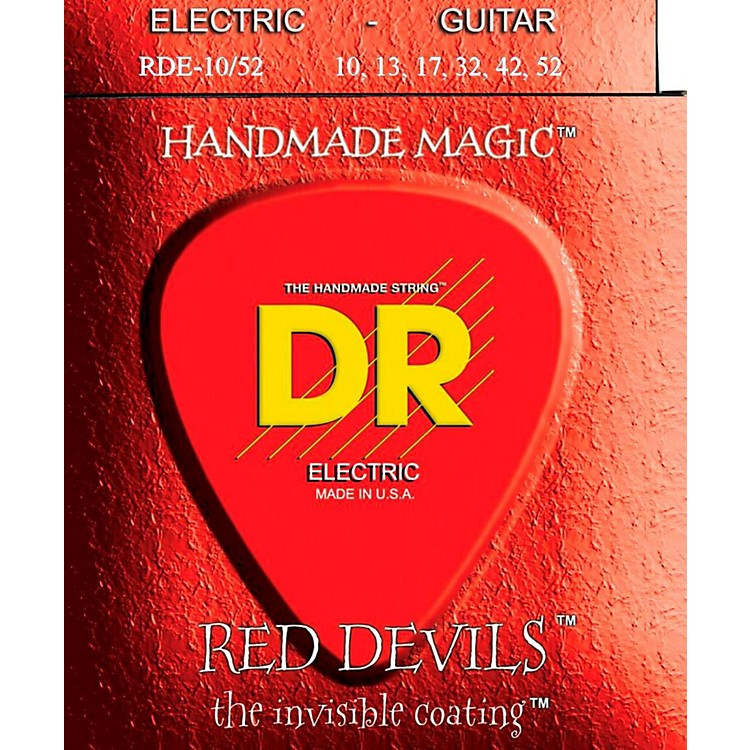 DR Strings Red Devil Coated Medium-Heavy Electric Guitar Strings