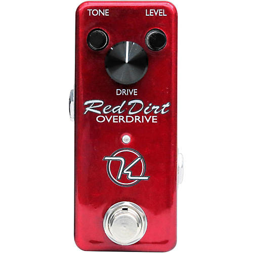 Keeley Red Dirt Mini Overdrive Guitar Effects Pedal-thumbnail