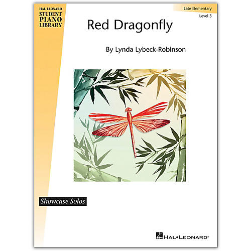 Hal Leonard Red Dragonfly - Hal Leonard Student Piano Library Showcase Solo Level 3/Late Elementary-thumbnail