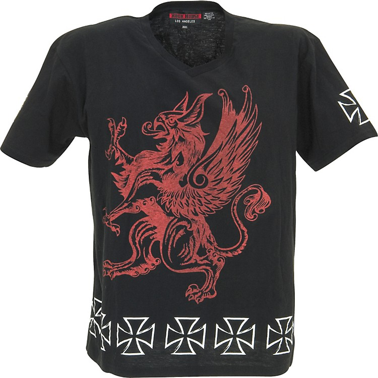 Rock House Los Angeles Red Griffin T-Shirt